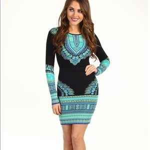 BCBG Long Sleeve Bodycon